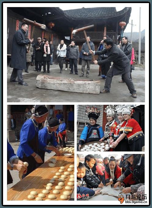 【拜年习俗】 湖南老家过年习俗(打糍粑,杀年猪,打豆.