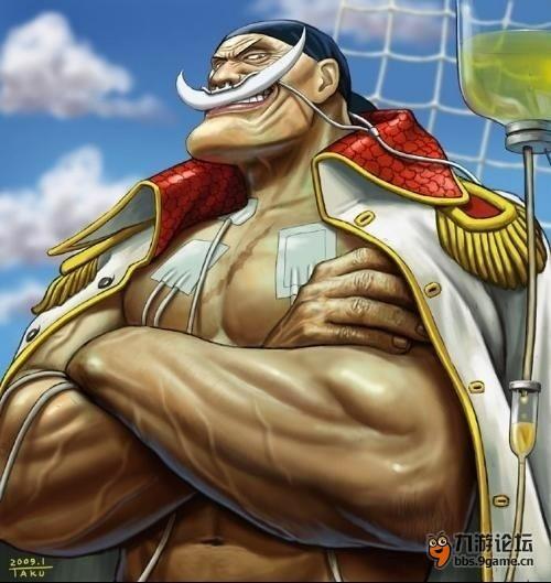 【我是海贼王ol】--白胡子(防)