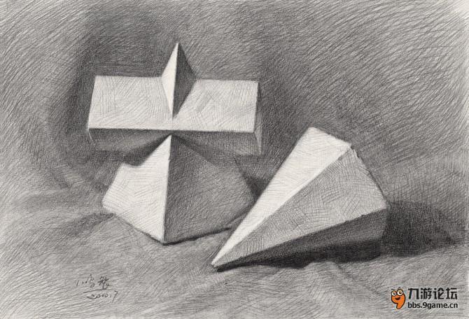 素描几何体结构解析_动漫广场