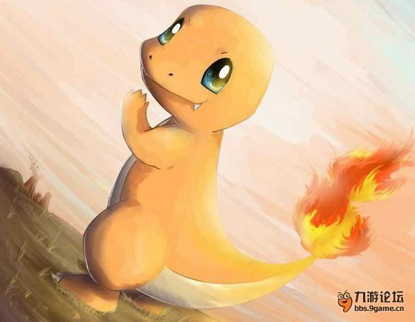 小火龙是橙色的爬行动物,像一尾的两足动物蝾螈,有一些恐龙的特征,特别像是那些兽脚亚目食肉恐龙? 小火龙有四颗小小的可见的牙齿在它的嘴巴里的上面和下面,肚子和尾巴下方是奶油色的?它最显着的特点是它的尾巴尖在出生时就有燃烧着的火焰?有人说,如果火焰熄灭这只神奇宝贝就会死亡,虽然这从来没有在动画?