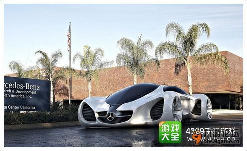 狂野飙车8b级车奔驰biome概念车