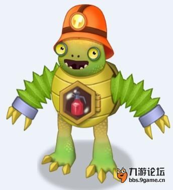 【外星来客6星小怪兽——神火龟】