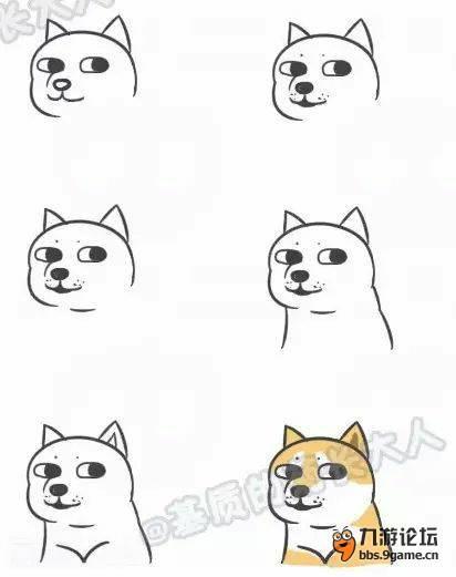 教大家画一些很Q的简笔画