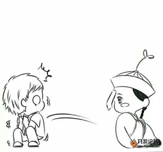 【漫画】萌萌哒的小僵尸-[初遇小僵尸]_二次元学园