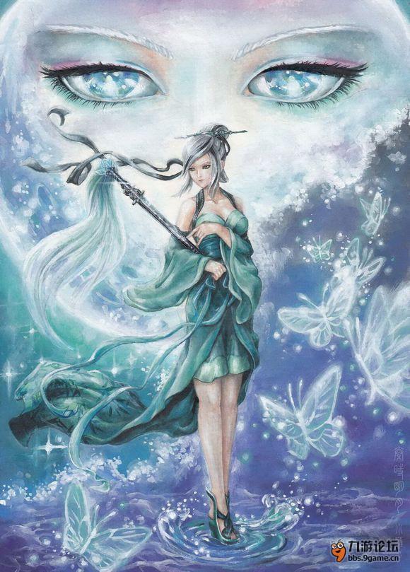 《新秦时明月》精美手绘