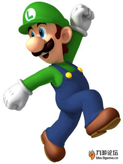 马里奥(大鼻子,头戴帽子,身穿背带工作服,还留着胡子,这个大叔很多人
