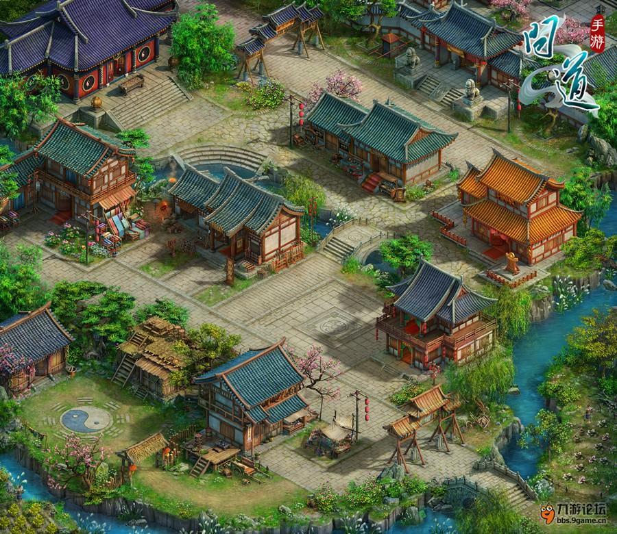 图2:《问道》手游揽仙镇地图.jpg