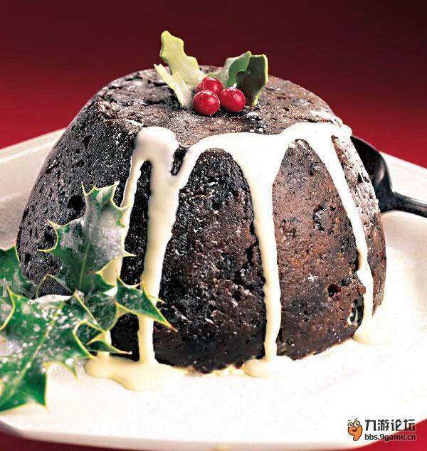 蛋糕盘手工制作图片圣诞节