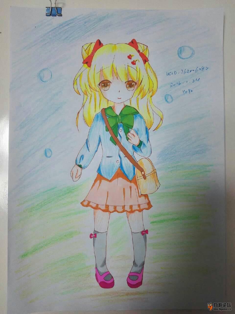 小学生校服手绘设计图