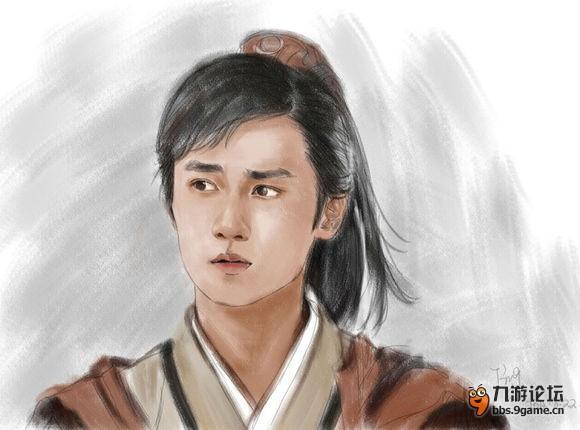轩辕剑人物手绘图图