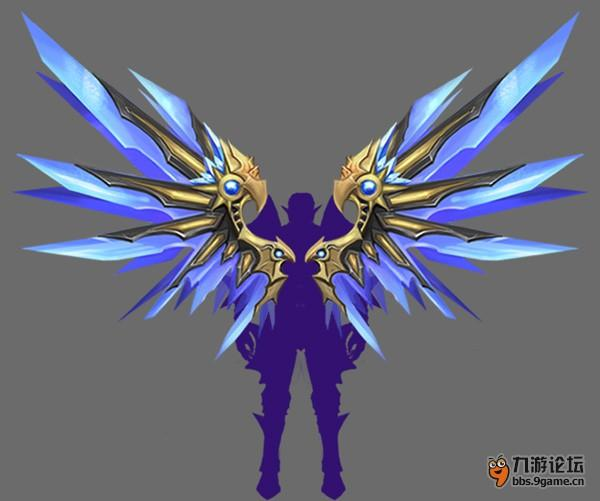 恶魔翅膀标志壁纸