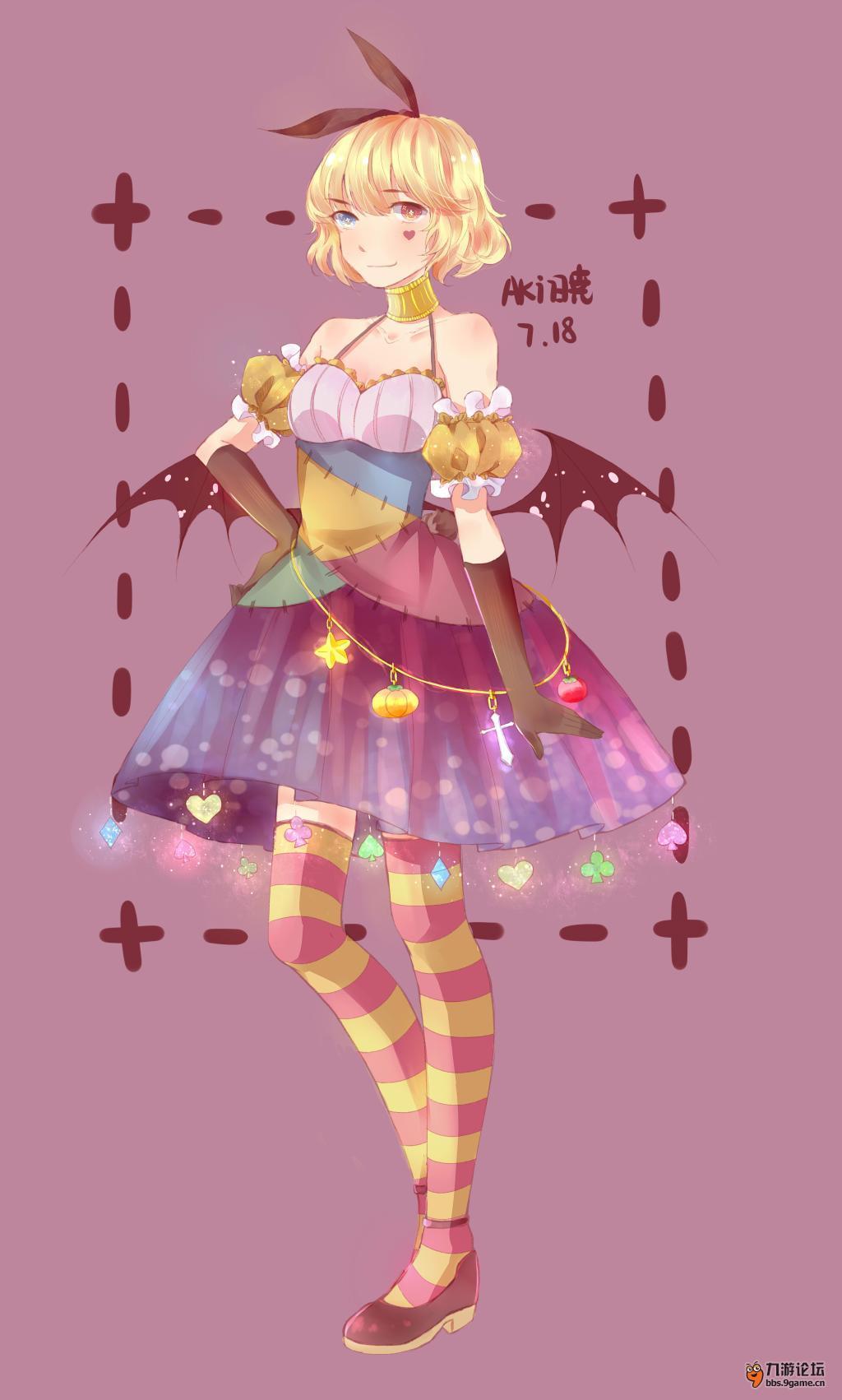 【唱舞团时装设计】万圣节小恶魔