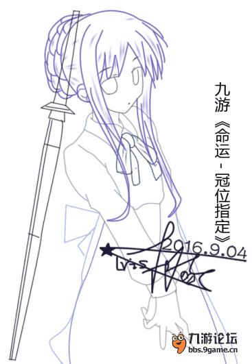 【命运-冠位指定】《fate》-- saber手绘