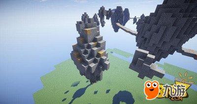 我的世界空岛战争千矿石林地图