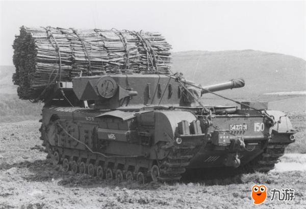 丘吉尔AVRE火炮原型图