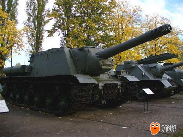 ISU152自行反坦克原型图
