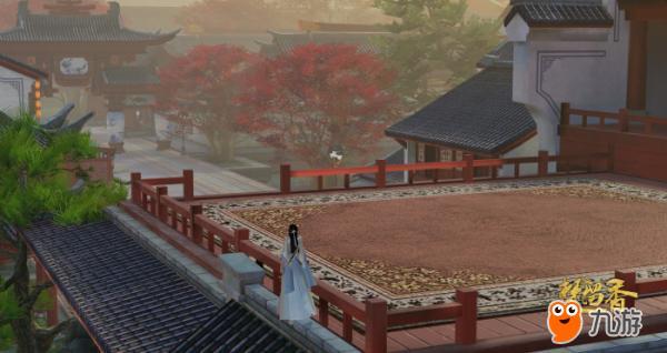 《楚留香》游戏实截风景图盘点  华山终年积雪,古朴与清冷附着在每处