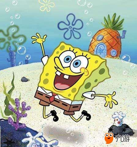 我喜欢海绵宝宝,这个算是海洋生物吧,哈哈