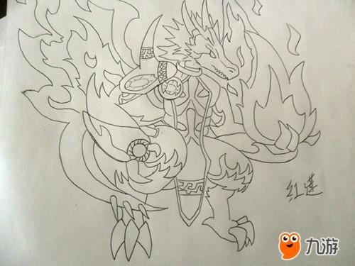 画神龙,参加《龙珠觉醒》 许愿仪式!