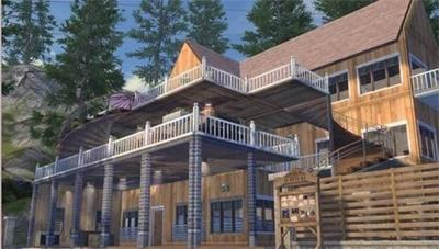 明日之后5級莊園豪華別墅構圖