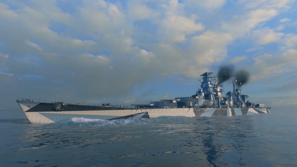 网易独家署理的《战舰世界闪击战》迎来重磅更新