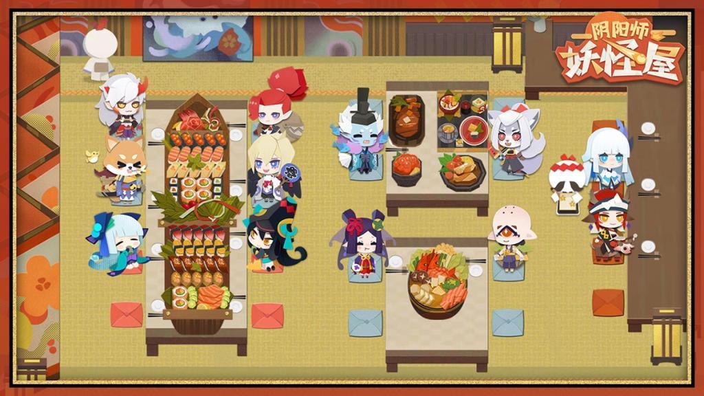 《阴阳师妖怪屋》11月20日限时营业 和风剪纸云养妖2